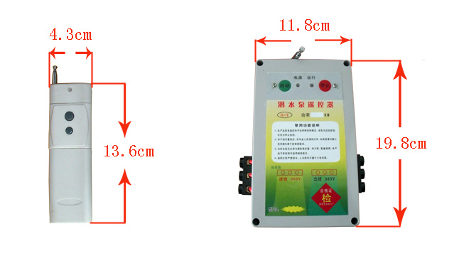 潜水泵遥控器安装,潜水泵遥控器价格,潜水泵保护器型号,潜水泵控制器