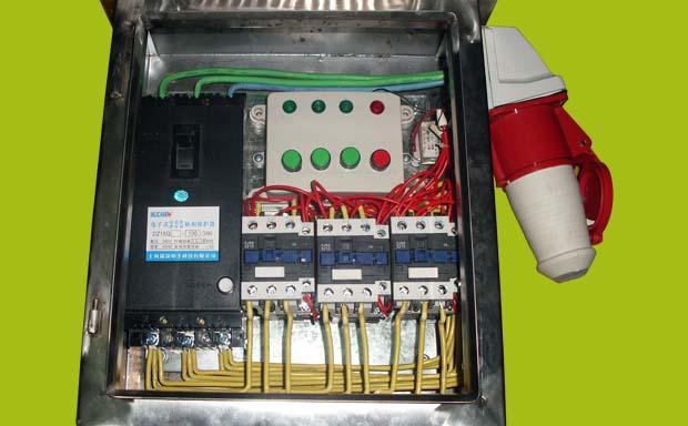 380v交流接触器接线接遥控器图