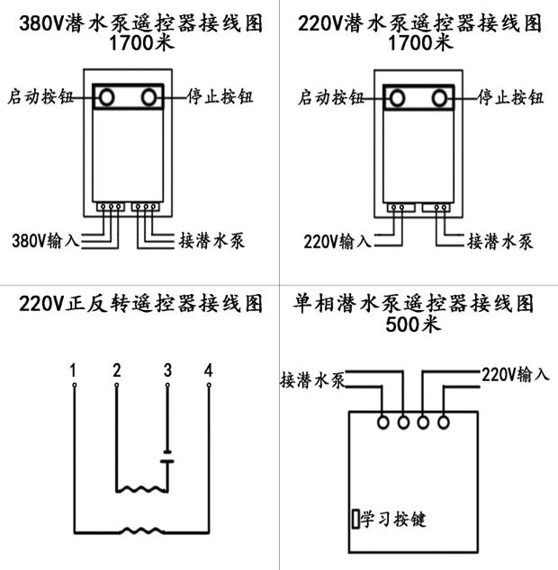 谁懂金宏源水泵遥控器接线图呀?亲!我懂!